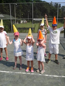 kids with cones 2014
